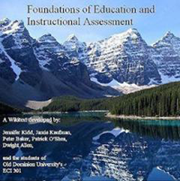 Foundations of Education and Instructional Assessment textbook image